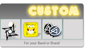 Custom Budclicks :: for your Band of Brand